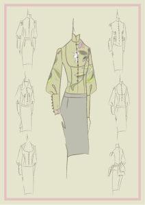 корпоративная одежда эскиз формы для официантов