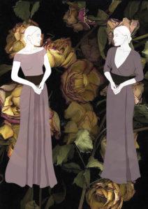 разработка одежды на заказ эскиз платья